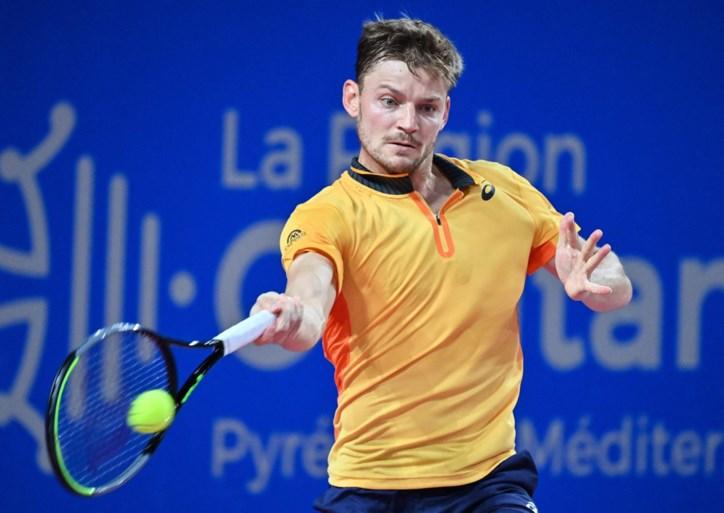 """Is de topvorm terug? David Goffin stoot door naar halve finales in Montpellier: """"Ik voel mij beter"""""""