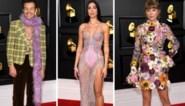 Sterren uitbundig gekleed op de Grammy's
