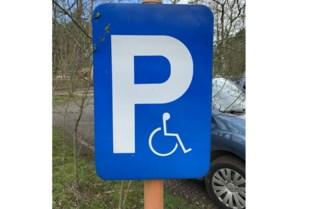 Op weg naar honderd parkeerplaatsen voor mensen met een beperking