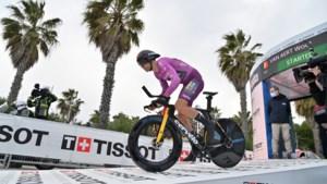 """Wout van Aert pakt tweede ritzege en wordt tweede in klassement Tirreno-Adriatico: """"Net na de Tour-winnaar, dat is een mooie start"""""""