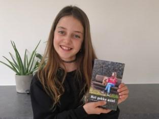 Nog maar elf, maar al een echte auteur: Jade brengt eerste boek uit