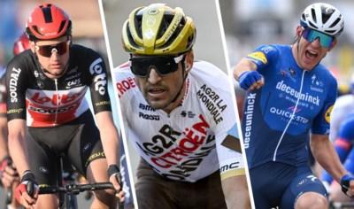 """Ook deze vijf renners lieten zich opmerken in functie van Milaan-Sanremo: """"Ik voel dat ik mee kan doen tegen Wout en Mathieu"""""""