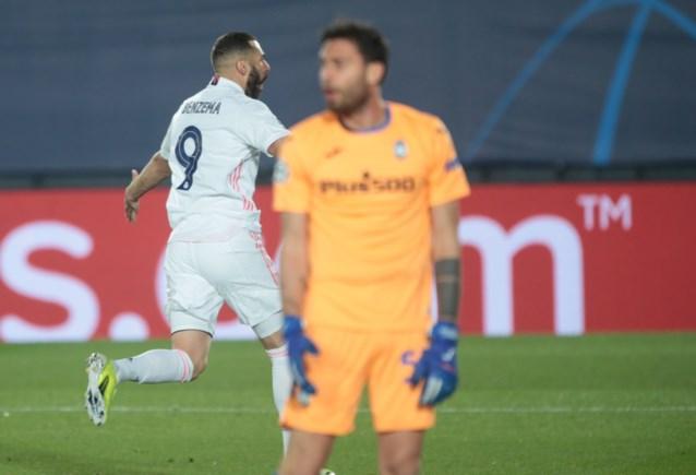 Atalanta laat mooie dingen zien, maar Sergio Ramos en Karim Benzema trappen Real Madrid richting kwartfinales Champions League