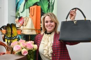 Shari opent winkel met luxueuze tweedehandskleding