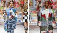 Een vleugje folklore in je outfit: zo draag je patchwork, gezien bij Dolce & Gabbana