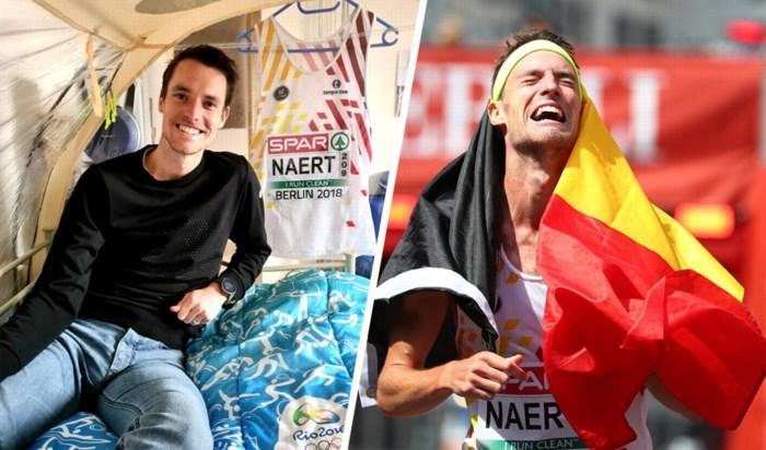"""Koen Naert betaalt 600 euro om eindelijk weer halve marathon te mogen lopen: """"Zo geobsedeerd door de Spelen, dat het niet meer gezond was"""""""