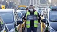 Taxichauffeurs manifesteren tegen terugkeer van Uber in Barcelona