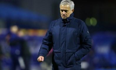 """Jose Mourinho na uitschakeling Tottenham: """"Na Antwerp had ik hetzelfde gevoel, zo moeilijk is het toch niet om respect te tonen?"""""""