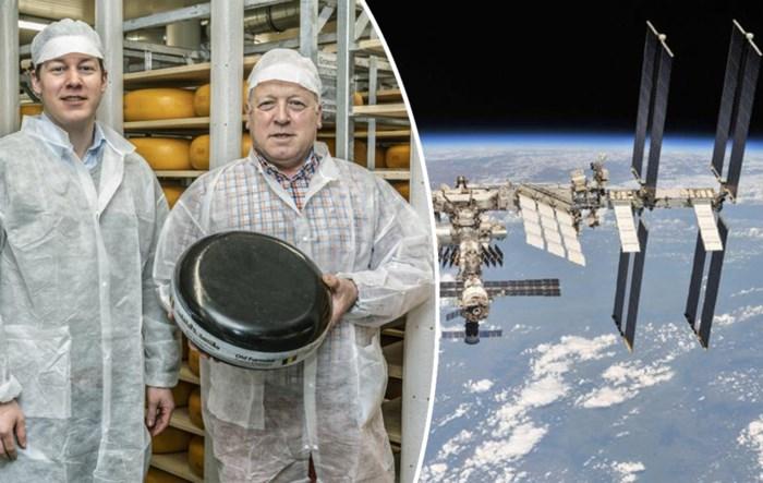 """Belgische kaas naar het ISS gestuurd: """"We leverden al in Dubai, maar nooit gedacht dat we ook in de ruimte zouden raken"""""""