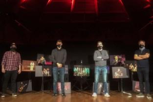 Bart Cannaerts feliciteert Wouwer met 25ste verjaardag op 'Expo XXV'