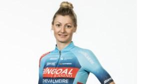 """Kelly Van den Steen, in februari nog op de spoed, staat zondag voor het eerst weer aan de start: """"Focus op een selectie voor de wegrit in Tokio"""""""