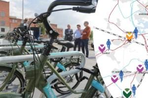 Gentse regio krijgt nieuw systeem met 600 deelfietsen: één euro voor een hele dag