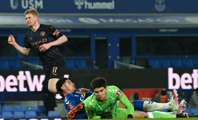 Manchester City dankzij scorende Kevin De Bruyne naar halve finales van FA Cup