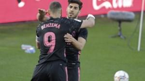 Real Madrid en Thibaut Courtois winnen zonder veel overschot van Celta de Vigo, Karim Benzema nog maar eens uitblinker
