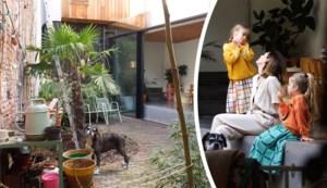 Een groene gevel en een druppelvormig keukeneiland: binnenkijken in de woning van Iris Nechelput