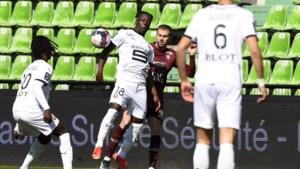 Een dag om te onthouden voor Jérémy Doku: eerste goal én eerste rode kaart in Ligue 1