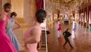 Balletstudenten dansen in Koninklijk Paleis tijdens lenteconcert