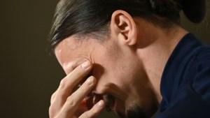 Zlatan Ibrahimovic in tranen bij comeback voor Zweden na vraag over zoontje