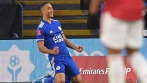 Youri Tielemans scoort heerlijke goal tegen Manchester United en helpt Leicester City naar halve finales FA Cup
