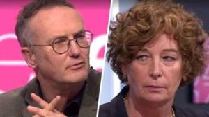 """Leen Dendievel boos om """"grove fout"""" in 'De zevende dag': """"Even heel bewust de deadname van Petra De Sutter in vraag stellen"""""""