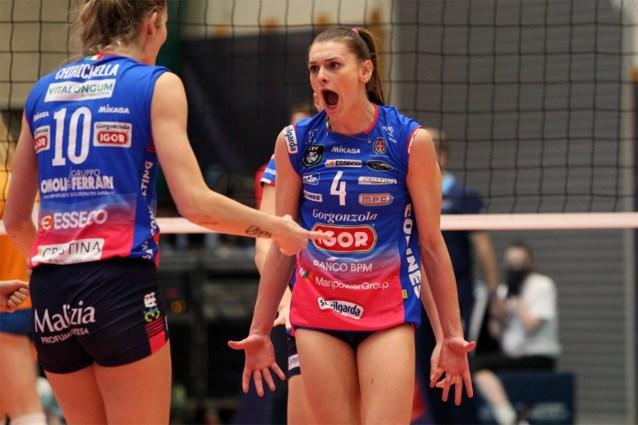 Geen finale van de Champions League volley voor Britt Herbots