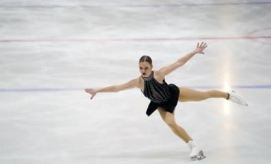 Loena Hendrickx komt vroeg op ijs voor korte kür WK kunstschaatsen