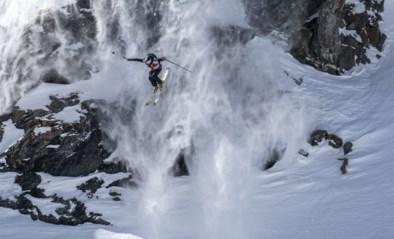 Straffe beelden vanop het WK freeride skiën in Verbier