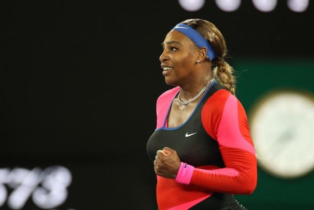 Serena Williams treedt in de voetsporen van Club Brugge