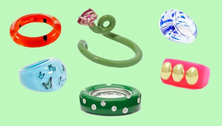 TREND. Kleurrijke ringen uit je kindertijd