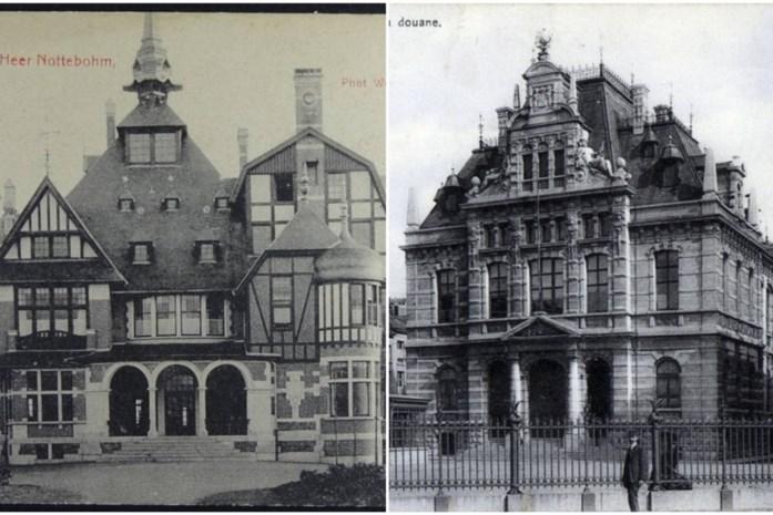 Deze historische gebouwen bestaan alleen nog op foto