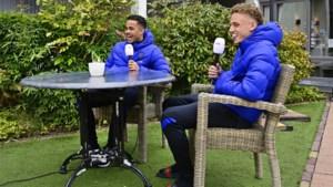 """""""Maatjes"""" Noa Lang en Justin Kluivert willen Nederland Europese titel bij de beloften bezorgen: """"De kleutertijd is voorbij"""""""