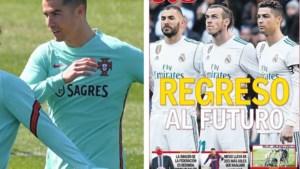 """Terug naar de beruchte 'BBC' mét Cristiano Ronaldo? """"Een telefoontje van Real en hij is weg bij Juventus"""""""