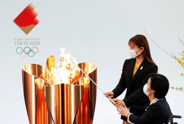 Olympische Spelen Tokio: fakkeltocht olympische vlam gestart in Fukushima