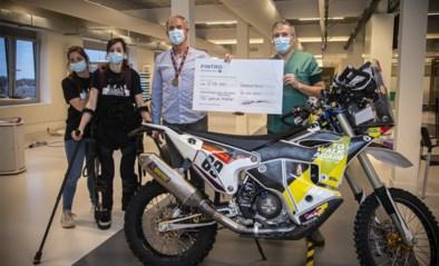 Dakar-rijder Walter Roelants haalt bijna 50.000 euro op voor To Walk Again