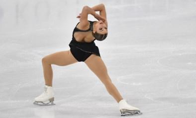 Op een zucht van de medailles: Loena Hendrickx vijfde van de wereld op WK kunstschaatsen