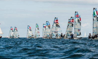 Zeilsters Isaura Maenhaut en Anouk Geurts hebben olympisch ticket beet in 49erFX