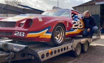 """De 'echte' Bliksem McQueen staat bij Walter (48) in de garage, al kan hij er zelf (nog) niet mee op het circuit: """"Dan zal ik toch eerst flink moeten vermageren"""""""
