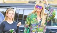 """Heidi Klum poseert zonder make-up en met modellendochter: """"Niets aan deze foto's is bewerkt"""""""