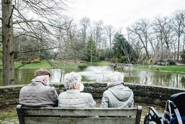 Nieuwe fontein in Steytelinckpark