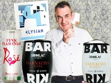 Gedurfde innovatie van een eeuwenoude drank: Alain Bloeykens keurt wijnen uit blikjes en heuse vaatjes uit tin