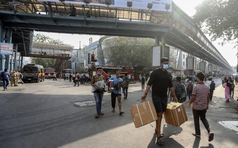 Tien doden bij brand in coronaziekenhuis in Mumbai