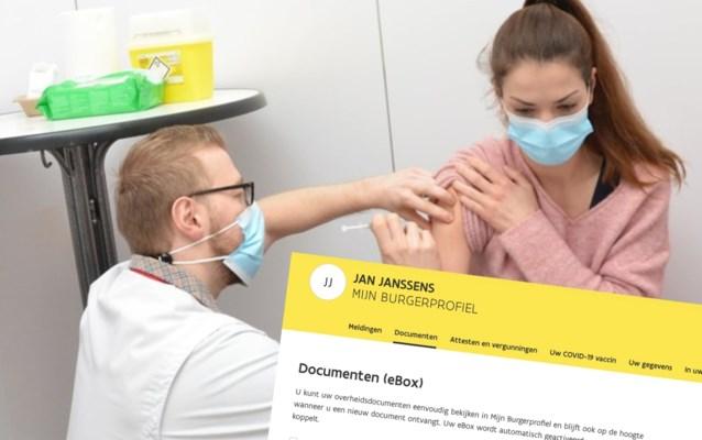"""""""Check je 'burgerprofiel' als je je vaccinatie niet wil missen"""": maar wat is dat en waar vind je het?"""