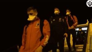 Nachtelijke landing en 'eendentocht' voor Rode Duivels voor match tegen Tsjechië