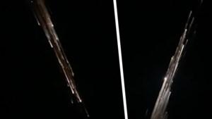 Inwoners denken dat spectaculaire lichtshow afkomstig is van vallende ster, maar niets is minder waar