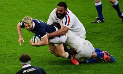 Rugbyers Wales winnen Six Nations met dank aan Schotten