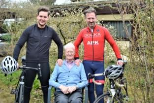 Zoon en kleinzoon fietsen Mont Ventoux op voor zieke opa