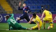 Frankrijk kan slechts twee keer scoren in Kazachstan, Mbappé mist strafschop
