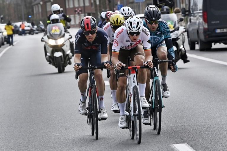 """REACTIES. Nathan van Hooydonck tevreden na Gent-Wevelgem: """"Wout is een klasbak"""""""