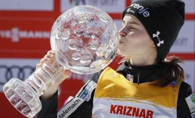 Sloveense Nika Kriznar steekt wereldbeker schansspringen op zak