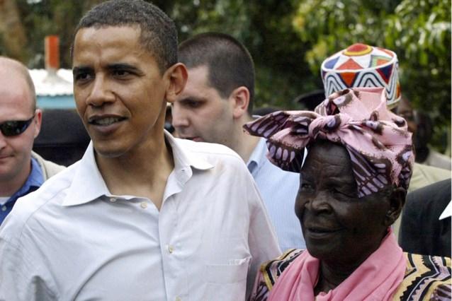 "Keniaanse ""grootmoeder"" van Barack Obama, overleden"